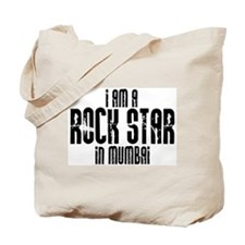 Rock Star In Mumbai Tote Bag