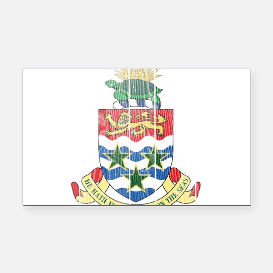 Cayman Islands Coat Of Arms Rectangle Car Magnet