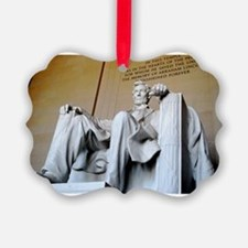 Words of Lincoln Ornament