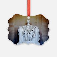 Lincoln Statue Ornament