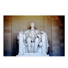 Lincoln Statue Postcards (Package of 8)