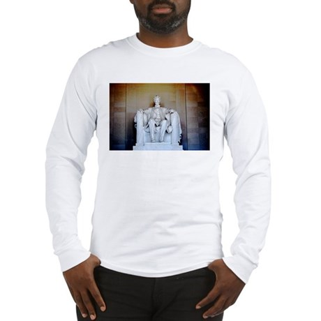 Lincoln Statue Long Sleeve T-Shirt