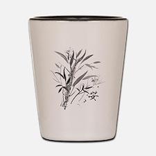 Bamboo Garden Shot Glass