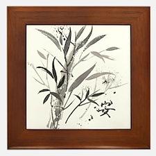Bamboo Garden Framed Tile