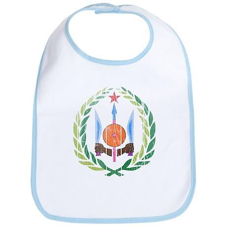 Djibouti Coat Of Arms Bib