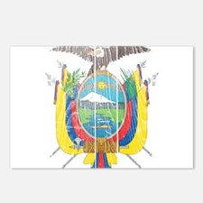 Ecuador Coat Of Arms Postcards (Package of 8)