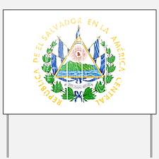 El Salvador Coat Of Arms Yard Sign