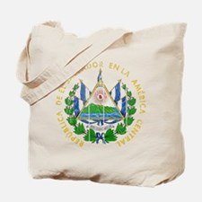El Salvador Coat Of Arms Tote Bag