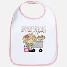 Shopping with Nonna Baby Bib