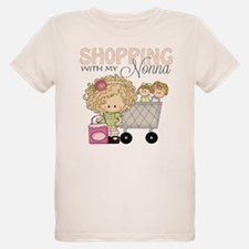 Shopping with Nonna Kids Shirt - T-Shirt