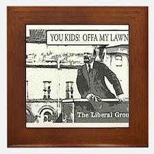 The Original Grouchy Bolshevik Framed Tile