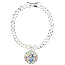 Gambia Coat Of Arms Charm Bracelet, One Charm