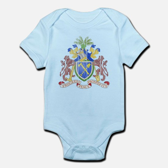 Gambia Coat Of Arms Infant Bodysuit