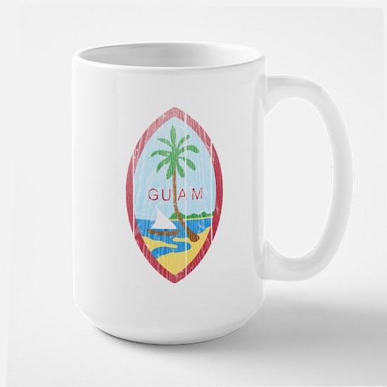 Guam Coat Of Arms Large Mug