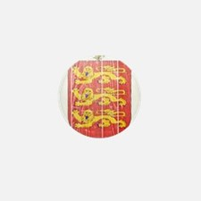 Guernsey Coat Of Arms Mini Button