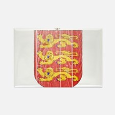 Guernsey Coat Of Arms Rectangle Magnet