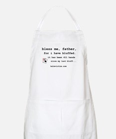 """bless me, father"" BBQ Apron"