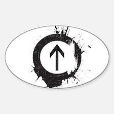 Above Drugs Sticker (Oval)