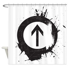 Above Drugs Shower Curtain