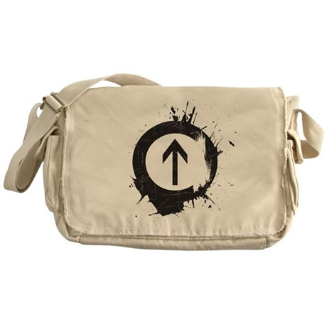 Above Drugs Messenger Bag