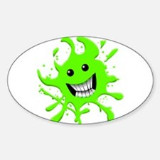 Slime Sticker (Oval)