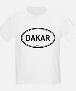 Dakar, Senegal euro Kids T-Shirt
