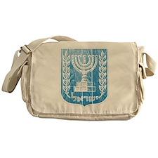 Israel Coat Of Arms Messenger Bag