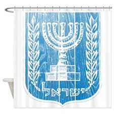 Israel Coat Of Arms Shower Curtain
