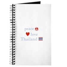 Peace Love and Thailand Journal