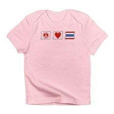 Peace Love and Thailand Infant T-Shirt