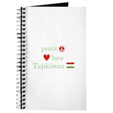 Peace Love and Tajikistan Journal