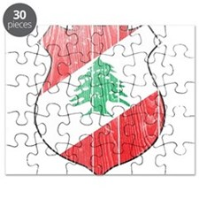 Lebanon Coat Of Arms Puzzle