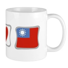Peace Love and Taiwan Mug