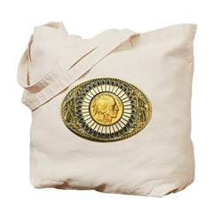 Indian gold oval 1 Tote Bag
