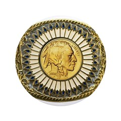 Indian gold oval 1 3.5