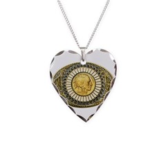 Indian gold oval 1 Necklace