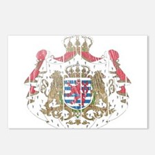 Luxembourg Coat Of Arms Postcards (Package of 8)