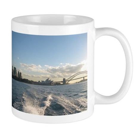 Sydney Harbour Mug by TKD ART