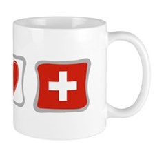 Peace Love and Switzerland Mug