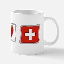 Peace Love and Switzerland Mug