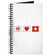 Peace Love and Switzerland Journal