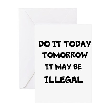 Do it Today Greeting Card
