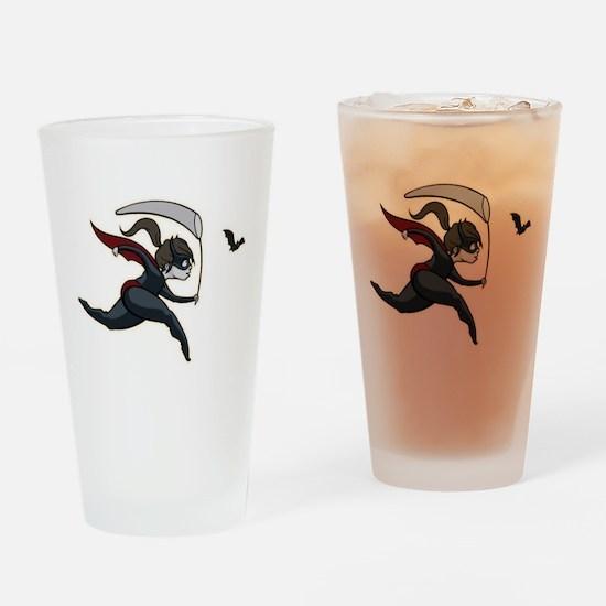 Batgirl.png Drinking Glass