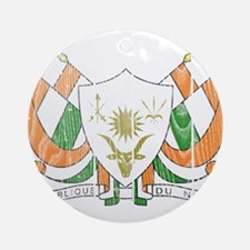Niger Coat Of Arms Ornament (Round)