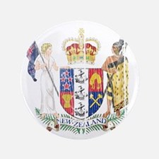 """Niue Coat Of Arms 3.5"""" Button (100 pack)"""