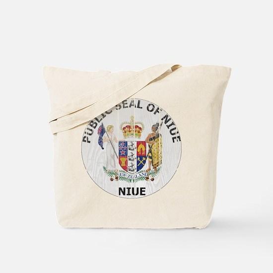 Niue Coat Of Arms Tote Bag