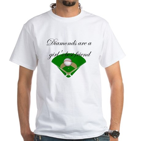 Diamonds are a girls best friend T-shirts and gift