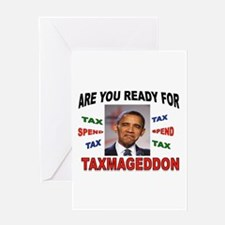 TAXMAGEDDON Greeting Card