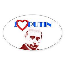 Putin Oval Decal