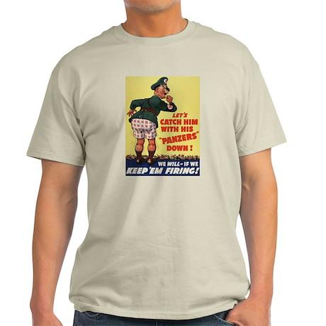 World War II Patriotic Poster Ash Grey T-Shirt